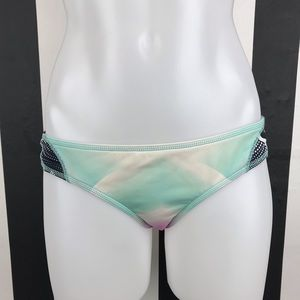 5 for $25 Roxy Teal Purple Watercolor Bikini